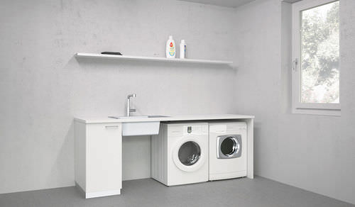 laundry room cabinet