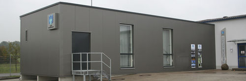 modular building / temporary / trailerable / commercial