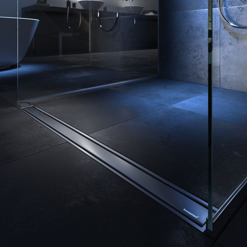 stainless steel linear shower drain