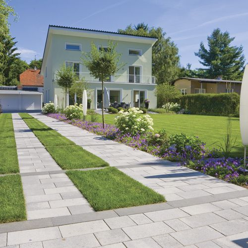 stone paver / drive-over / for public spaces
