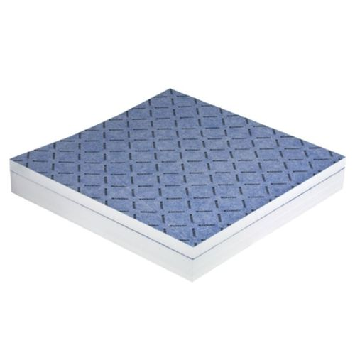 square shower base / composite / non-slip