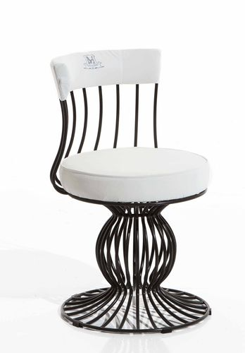Original design chair / central base / fabric / metal SIRIO Samuele Mazza by DFN srl