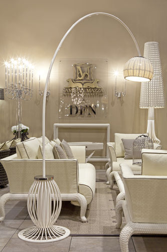 Floor-standing lamp / traditional / resin / steel CANOPO Samuele Mazza by DFN srl