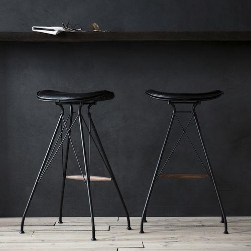 contemporary bar stool - OVERGAARD & DYRMAN