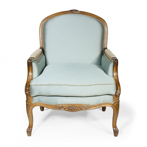 french style armchair / oak / mahogany / cherrywood