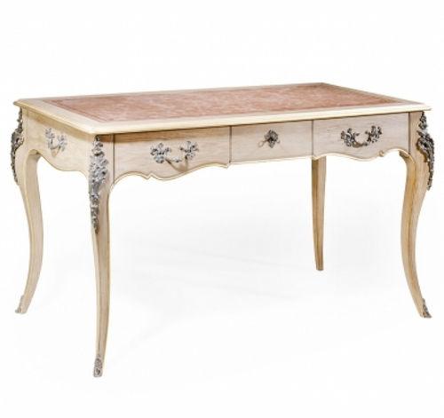 oak desk / cherrywood / mahogany / leather