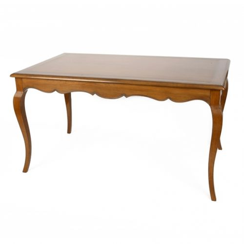 french style dining table / oak / cherrywood / mahogany
