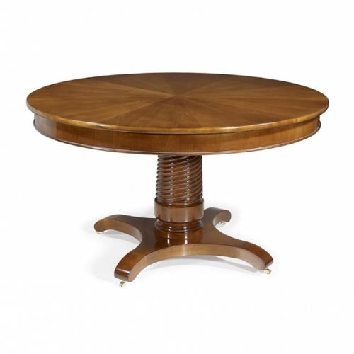 traditional dining table / oak / cherrywood / mahogany