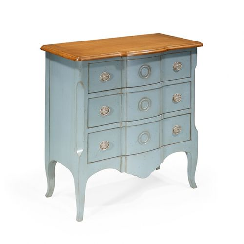 french style chest of drawers / oak / cherrywood / mahogany