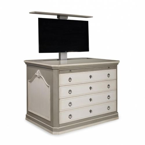 traditional TV cabinet / oak