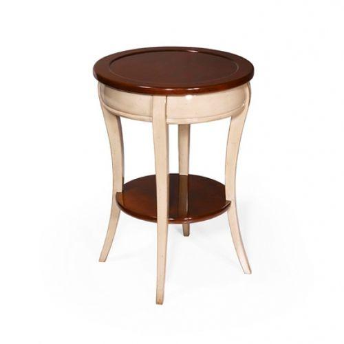 traditional side table / oak / mahogany / cherrywood
