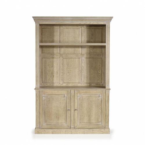 french style TV cabinet / oak