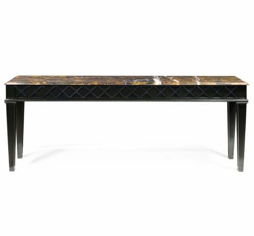contemporary coffee table / oak / cherrywood / mahogany
