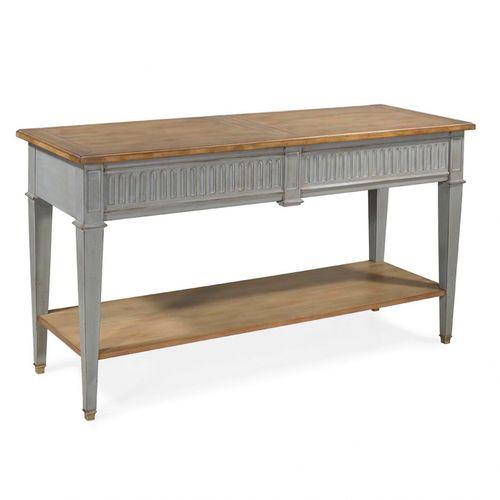 french style sideboard table / oak / mahogany / cherrywood