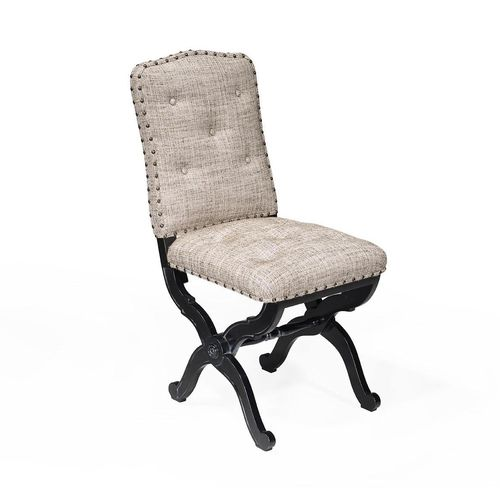 french style dining chair / upholstered / custom / fabric