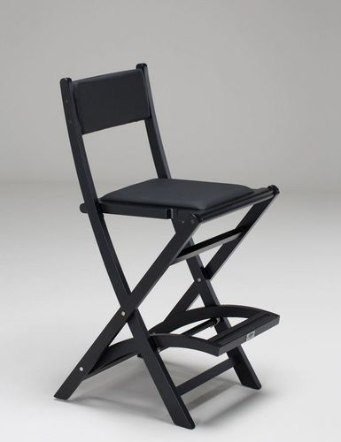folding makeup chair / with footrest
