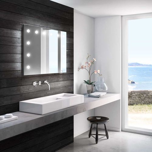 wall-mounted bathroom mirror - CANTONI