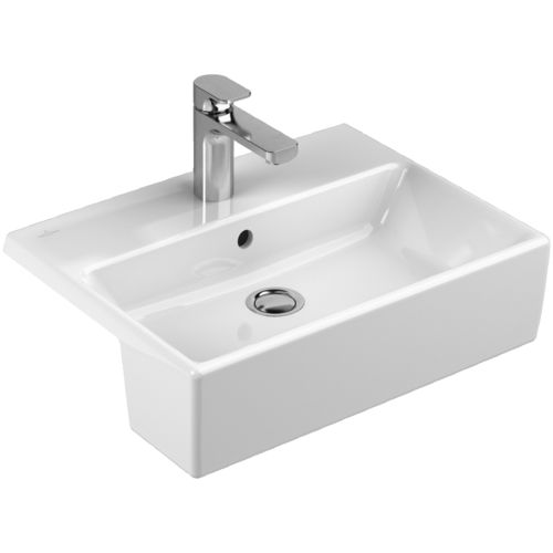 Built-in washbasin / rectangular / porcelain / contemporary MEMENTO Villeroy & Boch