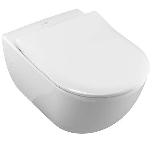 Wall-hung toilets / ceramic SUBWAY 660010 Villeroy & Boch