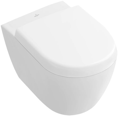 Wall-hung toilet / porcelain SUBWAY 2.0:  560610 Villeroy & Boch