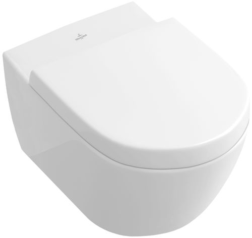 Wall-hung toilet / porcelain / rimless SUBWAY 2.0:  5614R0 Villeroy & Boch