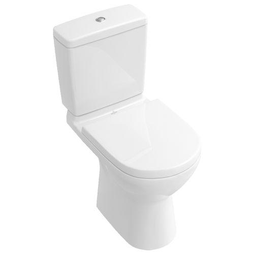 free-standing toilet / monobloc / porcelain