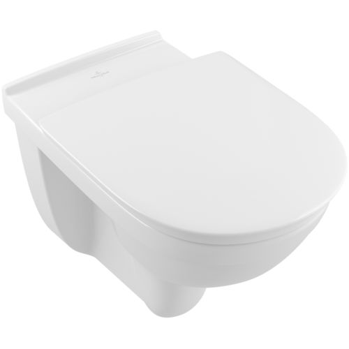 Wall-hung toilet / porcelain / handicapped / rimless O.NOVO 4695R0 Villeroy & Boch