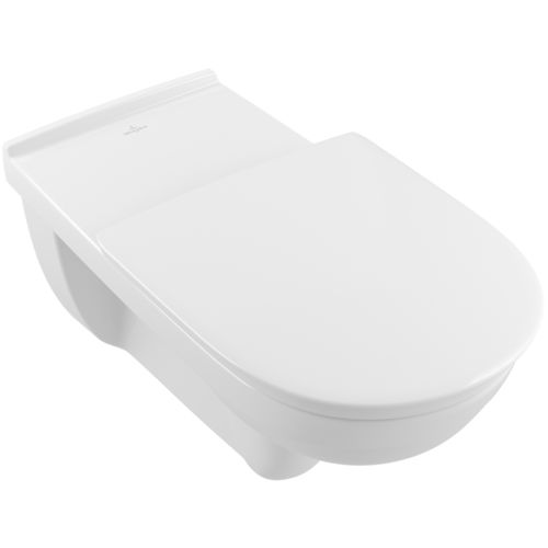 wall-hung toilet / porcelain / handicapped / rimless
