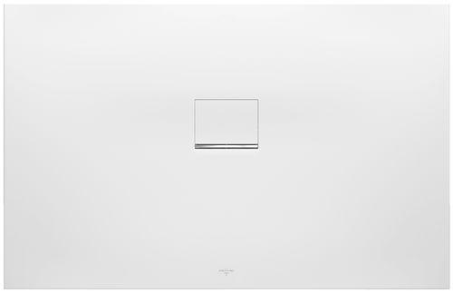 Rectangular shower base / composite / custom SQUARO INFINITY Villeroy & Boch