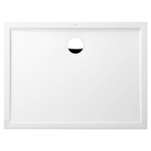 rectangular shower base / acrylic / extra-flat / custom