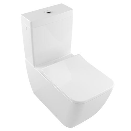 Free-standing toilets / porcelain / rimless VENTICELLO 4612R0 Villeroy & Boch