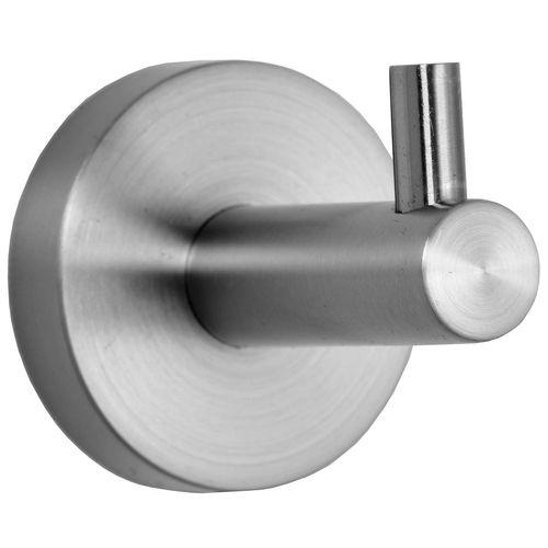 contemporary coat hook / stainless steel / bathroom / commercial