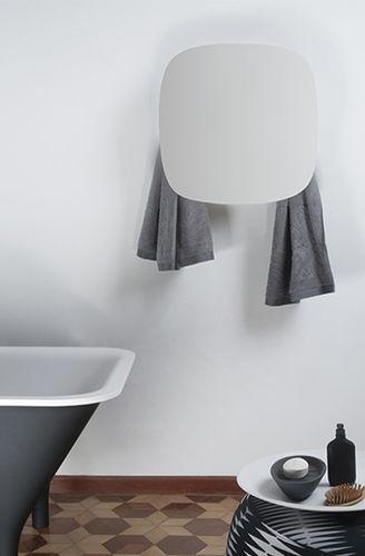 Electric towel radiator / storage / metal / contemporary I GEOMETRICI-SQUARE by Monica Geronimi mg12