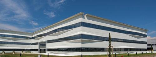 prefab building / concrete / for public use / contemporary