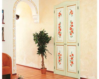 Indoor door / swing / wooden / MDF LUNAMARE Di.Bi. Porte Blindate
