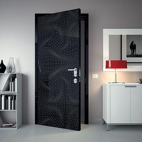 Indoor door / swing / steel / security ESSENZIA Di.Bi. Porte Blindate