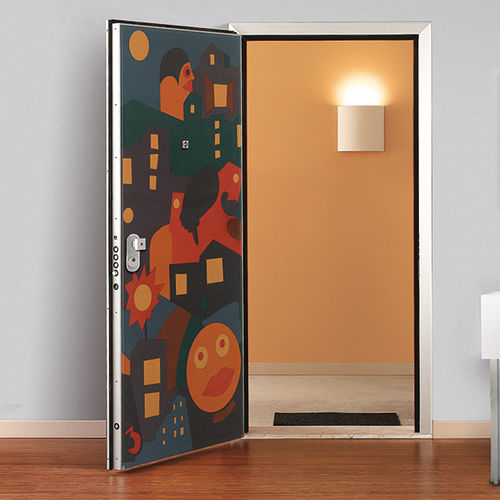 Interior door / swing / steel / security SEGRETA  Di.Bi. Porte Blindate