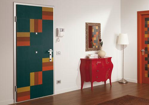 Interior door / swing / steel / security POKER  Di.Bi. Porte Blindate
