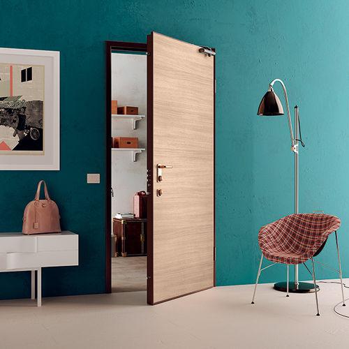 Indoor door / swing / steel / security DRAGO Di.Bi. Porte Blindate