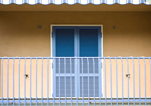 Swing shutters / steel / window / acoustic VESTA Di.Bi. Porte Blindate