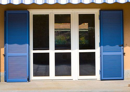 Swing shutters / steel / window / acoustic VESTA Di.Bi. Porte Blindate