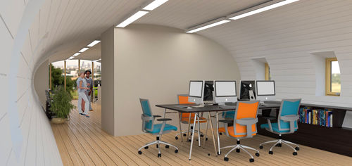 passive building / temporary / modular / prefab