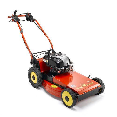 gasoline brush cutter / lawn / walk-behind / blade