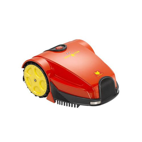 robotic lawn mower / electric / for sloped terrain