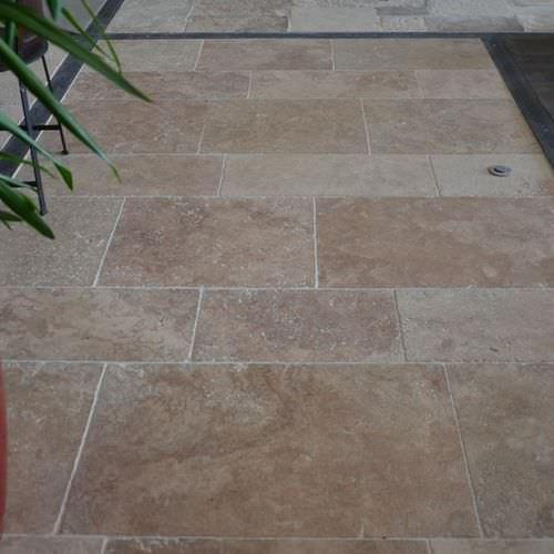 indoor tile / outdoor / floor / travertine