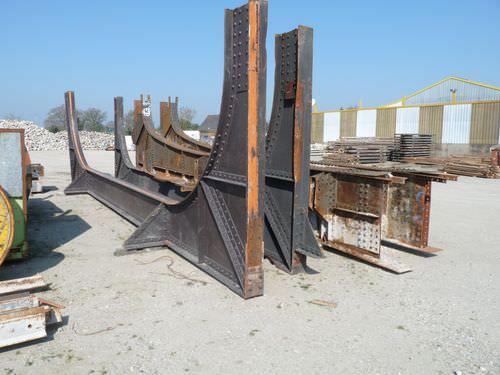 Metal beam / solid wood / I / large-span bca materiaux anciens