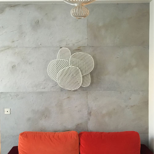 Natural stone wallcovering / residential / commercial / smooth ARDOISE - STOCKHOLM StoneLeaf