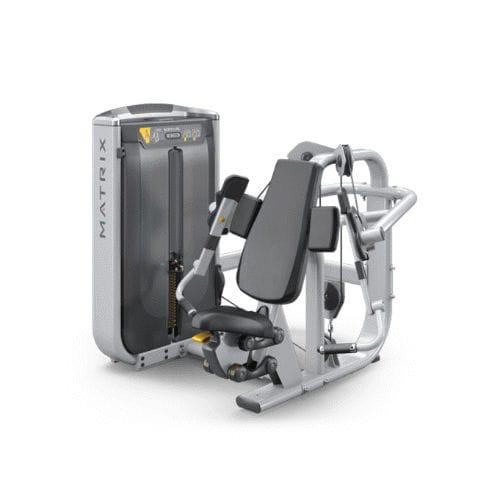 chest press weight training machine