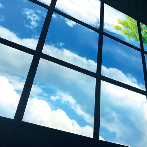 sky ceiling LED panel / wall-mounted / modular