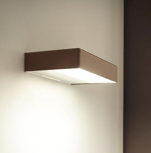 contemporary wall light / metal / polycarbonate / LED